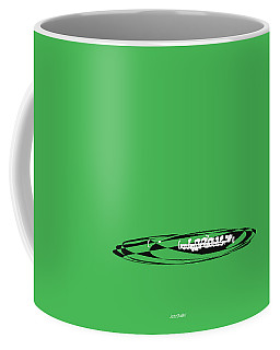 Coffee Mug featuring the digital art Piccolo In Green by Jazz DaBri