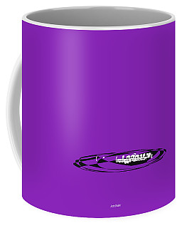 Coffee Mug featuring the digital art Piccolo In Purple by Jazz DaBri