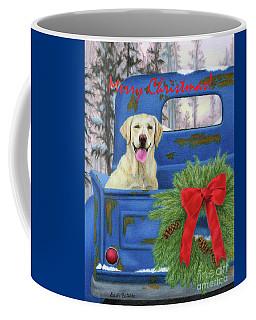 Pick-en Up The Christmas Tree- Merry Christmas Cards Coffee Mug