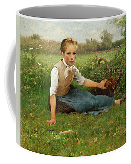 Picking Flowers Coffee Mug