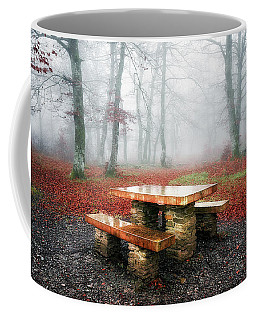 Picnic Of Fog Coffee Mug