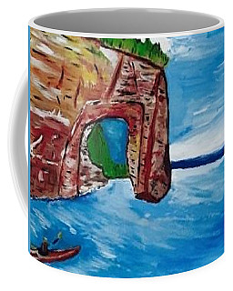 Pictured Rocks In The Upper Peninsula Of Michigan Coffee Mug by Jonathon Hansen