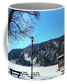 Picturesque Devil's Lake Coffee Mug by Ricky L Jones