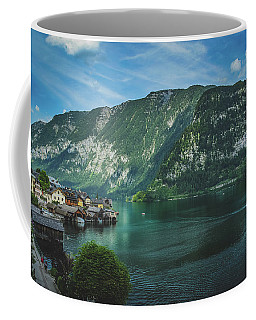 Picturesque Hallstatt Village Coffee Mug