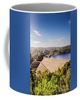Picturesque Hydroelectric Dam Coffee Mug
