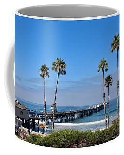 Pier And Palms Coffee Mug