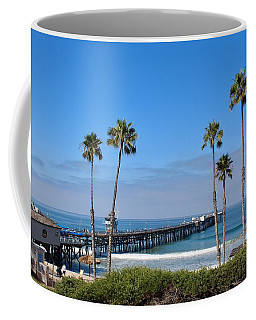 Pier And Palms Coffee Mug