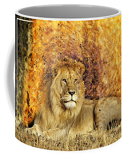 Coffee Mug featuring the photograph Pieces Of A Lion by Ericamaxine Price