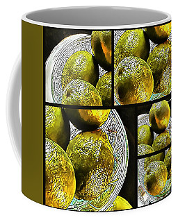 Pieces Of Lime Collage Coffee Mug