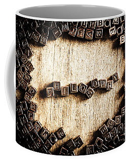 Piecing Together Philosophy Coffee Mug