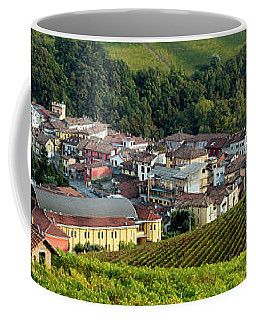 Coffee Mug featuring the photograph Piemonte Panoramic by Brian Jannsen