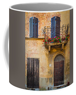 Pienza Balcony Coffee Mug