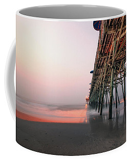 Pier And Surf Coffee Mug