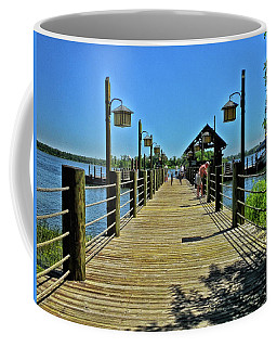 Pier At Fort Wilderness Pm Coffee Mug