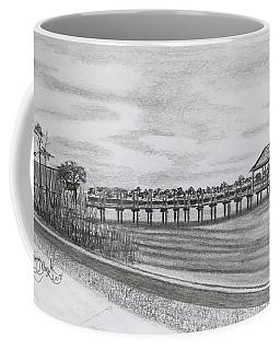 Pier At Goose Creek  Coffee Mug