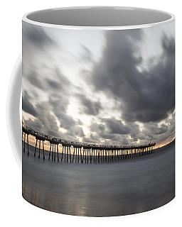 Pier In Misty Waters Coffee Mug