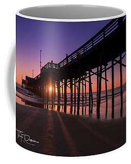 Pier In Purple Coffee Mug