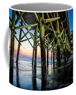 Pier Perspective Coffee Mug by David Smith