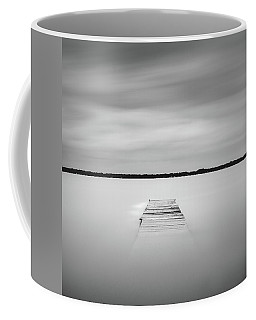 Pier Sinking Into The Water Coffee Mug