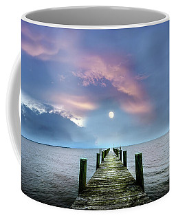 Pier To The Moon Coffee Mug