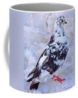 Pigeon On Ice  1 Coffee Mug