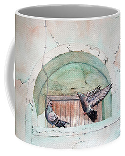 Pigeon Perch Coffee Mug