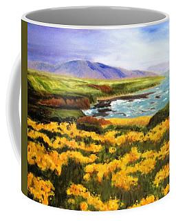 Pigeon Point Coffee Mug by Jamie Frier