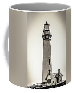 Coffee Mug featuring the photograph Pigeon Point Lighthouse by Randy Bayne