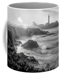 Pigeon Point Rocky Shore Coffee Mug