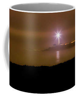 Pigeon Point Through The Fog Coffee Mug