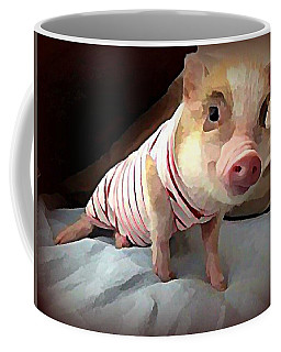Piglet In Pjs Coffee Mug
