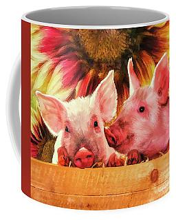 Piglet Playmates Coffee Mug