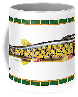 Pike Ice Fishing Decoy Coffee Mug