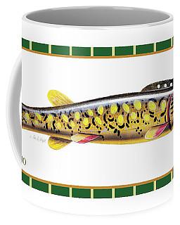 Pike Ice Fishing Decoy Coffee Mug