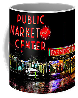 Pikes Market Seattle Coffee Mug