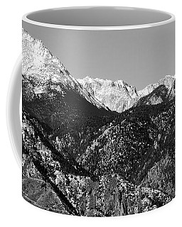 Pikes Peak And Incline 36 By 18 Coffee Mug