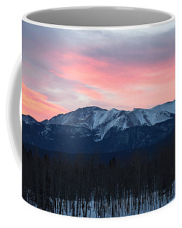 Sunrise Pikes Peak Co Coffee Mug