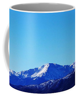 Coffee Mug featuring the photograph Pikes Peak by Joseph Frank Baraba