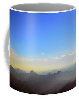 Pilchuck Sunrise Coffee Mug