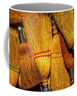 Pile Of Whisk Brooms Coffee Mug