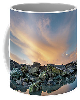 Piles Of Rocks And The Dawn Coffee Mug