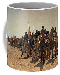 Pilgrims Going To Mecca Coffee Mug