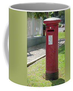 Pillar Box Coffee Mug by Guy Whiteley