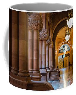 Pillar Hallway Coffee Mug