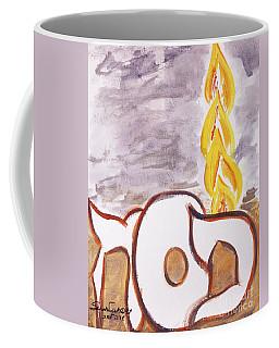 Pillar Of Fire Coffee Mug