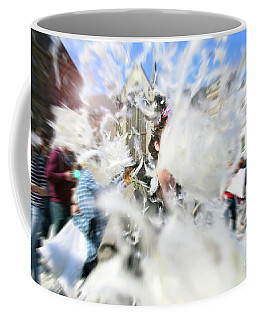 Pillow Fight Coffee Mug