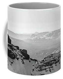 Pilot And Index Peaks B/w Coffee Mug