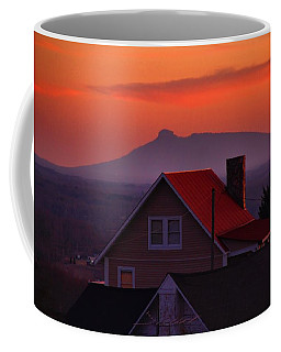 Pilot Sunset Overlook Coffee Mug by Kathryn Meyer