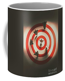 Pin Point Your Target Audience Coffee Mug