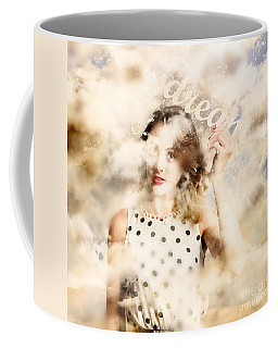 Coffee Mug featuring the photograph Pin-up Your Dreams by Jorgo Photography - Wall Art Gallery